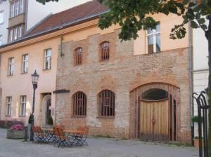 Gotisches Haus (Stadtinformation und Museum) Spreeweg Etappe 2, U-Bahnhof Rathaus Spandau bis U-Bahnhof Ruhleben