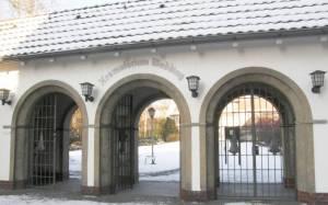 Eingang Urnenfriedhof, Wedding