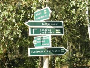 Wegmarkierungen (2009) Teltowkanalweg, Etappe 1, Grüner Hauptweg 17
