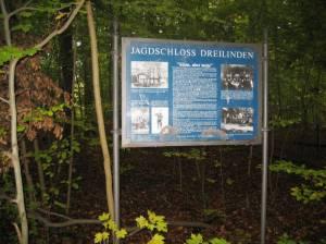 Jagdschloss Dreilinden, Düppeler Forst