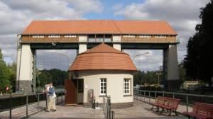 Schleuse in Kleinmachnow (2009) Teltowkanalweg, 20 Grüne Hauptwege, Weg  17