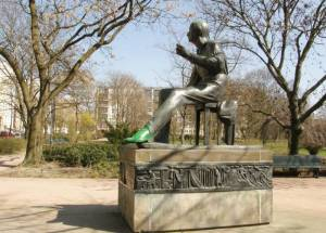 Heinrich-Heine, Volkspark am Weinberg