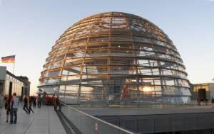 Die begehbare Kuppel Reichstagskuppel, Tiergarten