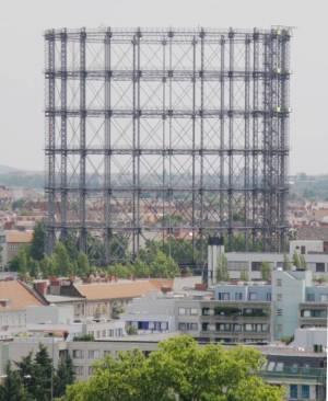 Gasometer (2009) Gasometer, Berlin-Schöneberg, EUREF-Gelände, Cheruskerpark