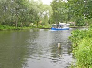 Löcknitz bei Erkner, Flakensee, 66-Seen-Wanderweg, Alte Löcknitz, Mielenz