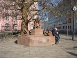 Bärenbrunnen, Berlin-Mitte, Friedrichswerdersche Kirche, Bauakademie, Auswärtiges Amt,