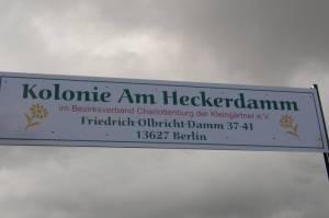 Kleingartenanlage am Heckerdamm (2009) Am Heckerdamm, Berlin-Charlottenburg, Kleingartenanlage
