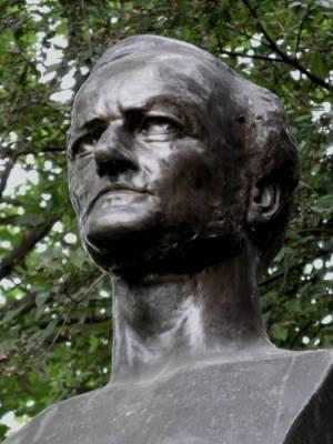 Wagner Denkmal Richard Wagner, Leipziger Notenspur