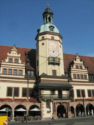 Altes Rathaus Altes Rathaus, Leipziger Notenspur