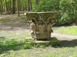 Kapitell, Berliner Dom Foto: (2016) Berliner Dom, Fragment eines korinthischen Säulenkapitells
