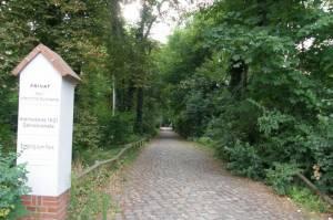 Parkeingang (2010) Schlosspark Tegel, Schloss Tegel, Humboldtgrab