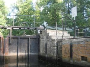 Schleuse Batzlin (2010) Schleuse Batzlin, Lübbenau, Großes Fließ, Burg-Lübbener Kanal, Wehr Batzlin