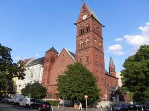 Seestraße, Berlin-Wedding, Friedhöfe, Rudolf,-Virchow-Klinikum, Plötzensee, Kapernaumkirche