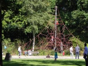 Spielplatz (2010) Kurpark Friedrichshagen, Freilichtbühne, Tennisanlage