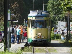 Am S-Bahnhof Friedrichshagen (2010) Rüdersdorfer Straßenbahn, Friedrichshagen