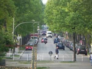 Alboinstraße, Berlin-Schöneberg, Alboinplatz, Bauhaus, TÜV, Friedhof Eythstraße