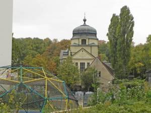 Großgörschenstraße, Kapelle vom Alten St. Matthäus-Kirchhof (2012) Großgörschenstraße, Berlin-Schöneberg, Alter St. Matthäus Kirchhof, Kleistpark, Park am Gleisdreieck