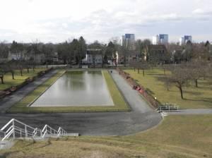Lilienthalpark (2015) Lilienthalpark, Berlin-Lichterfelde, Lilienthal-Gedenkstätte, Karpfenteich