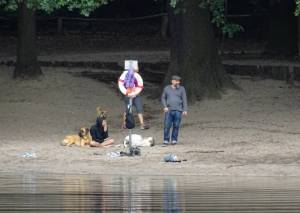 Hundeauslaufgebiet, Grunewaldsee (2016) Hundeauslaufgebiet Grunewald,