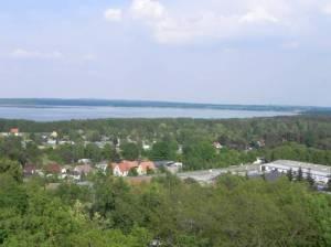 Aussicht vom Biorama-Turm (2011) Biorama, Joachimsthal, Schorfheide