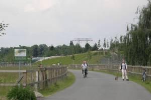 Teltower Dörferweg, breite Asphaltpiste (2009) Teltower Dörferweg, Von der Waltersdorfer Chaussee bis zur Stubenrauchstraße