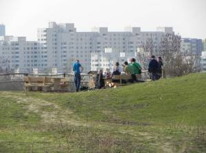 Freizeitpark Marienfelde, Aussichtspunkt (2011) Freizeitpark Marienfelde, Naturschutzstation, Skaterbahn, Aussichtspunkt, Picknickplatz, Wechselkrötenteich
