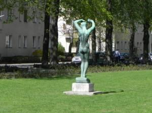 Der Morgen (2011) Der Morgen, Georg Kolbe, Ceciliengärten