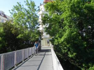 Fußgängersteg Dänenstraße, Prenzlauer Berg