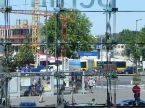 Eingang Invalidenstraße (2011) U-Bahnhof Hauptbahnhof, Hauptbahnhof, Hamburger Bahnhof, Regierungsviertel, Spree, Humboldthafen, Charité