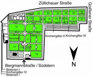 Alter Luisenstädtischer Friedhof, Berlin-Kreuzberg