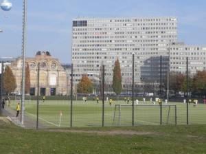 Lilli-Henoch-Sportplatz (2011) Lili-Hennoch-Sportplatz, Askanischer Platz, Tempodrom, Deutschlandhaus