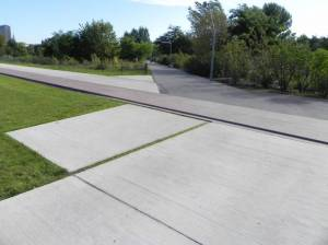 Parkwege (2011) Fußwege am Gleisdreieck,