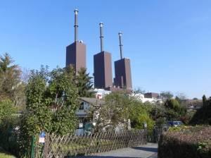 Kraftwerk Lichterfelde (2011) Teltowkanalweg, Etappe 3, Grüner Hauptweg 17