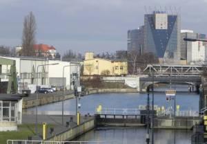 Unterhafen (2011) Unterhafen, Schleuse Neukölln, Neuköllner Schifffahrtskanal, Oberhafen