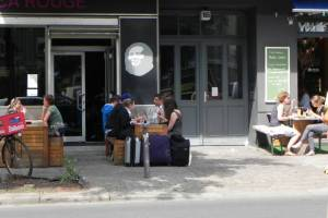 Torstraße, Berlin-Mitte, Galerien, Designerläden, Cafés
