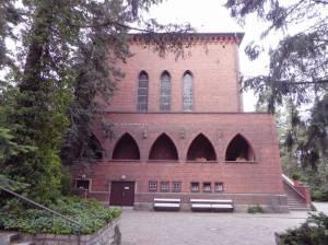 Trauerhalle, Friedhof Heerstraße