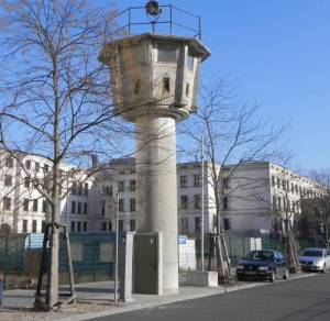 Grenzturm Erna-Berger-Straße (2012) Grenzturm, Berlin-Mitte, Leipziger Platz, Bundesrat, Abgeordnetenhaus