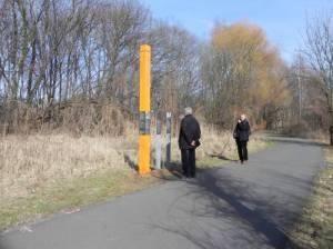 Roland Hoff, Teltow, Teltowkanal, Mauerweg