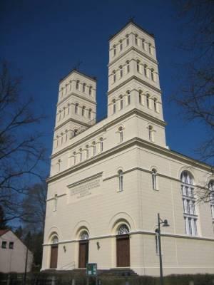Schinkelkirche Straupitz (2010) Schinkelkirche, Straupitz, Spreewald