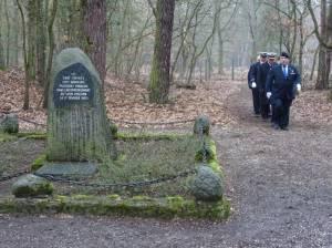 Alljährliche Gedenkfeier zu Ehren der Opfer des Flugzeugabsturzes von 1953 (2017) Flugzeugabsturz 1953, Flughafensee, Jungfernheide