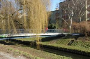 Gottschalkbrücke, Berlin-Wedding, Panke