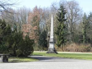 Obelisk im Neuen Garten (2012) Obelisk, Potsdam (Nauener Vorstadt), Neuer Garten, Marmorpalais, Heiliger See