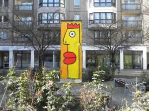 Berliner Mauer, Mauersegment an der Wilhelmstraße