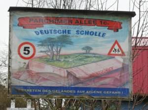 Teltowkanalweg, Siedlung Deutsche Scholle 2021 Teltowkanalweg Etappe 5, Vom U-Bahnhof Grenzallee zur Grünauer Brücke