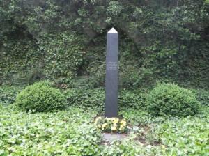 Grab von Jürgen Wohlrabe (2011) Jürgen Wohlrabe, Friedhof Heerstraße