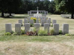 Commonwealth Kriegsgräber (2013) Britischer Militärfriedhof (Berlin-War-Cemetery),