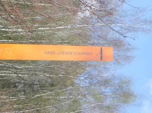 Hans-Jürgen Starrost, Kirschbaumallee, Mauerweg