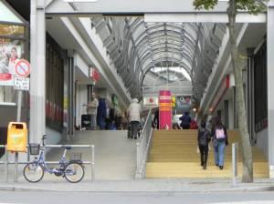 Märkische Zeile (2013) Märkische Zeile, Berlin-Märkisches Viertel, Einkaufszentrum
