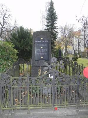 Rudolf Virchow, Alter St. Matthäus Kirchhof