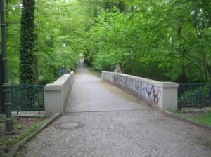 Hasensprungbrücke, Berlin-Grunewald, Koenigssee, Dianasee